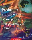 Production and Operations Management 8th 1998 9780256225563 Front Cover