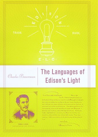 Languages of Edison's Light   2002 9780262024563 Front Cover