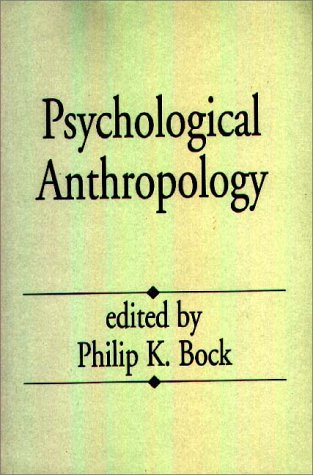 Psychological Anthropology   1994 9780275949563 Front Cover