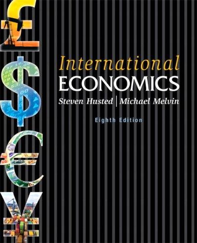 International Economics  8th 2010 edition cover