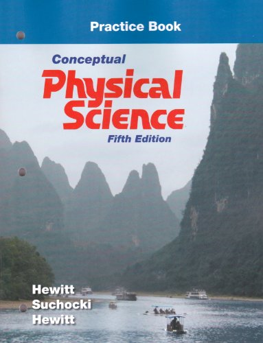 Practice Book for Conceptual Physical Science  5th 2012 (Revised) edition cover