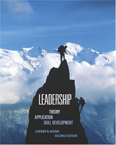 Leadership Theory, Application, Skill Development 2nd 2004 edition cover