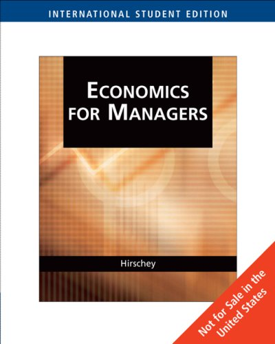 Managerial Economics N/A edition cover