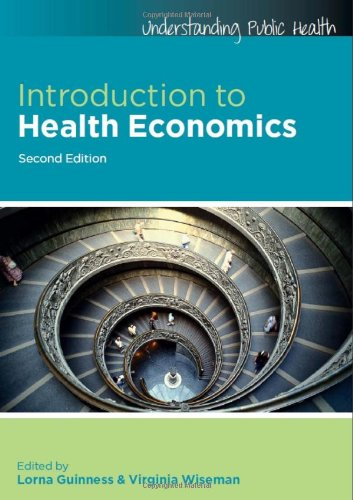 Introduction to Health Economics  2nd 2011 edition cover