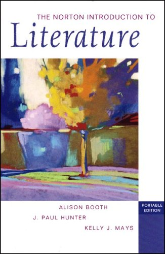 Norton Introduction to Literature   2006 edition cover