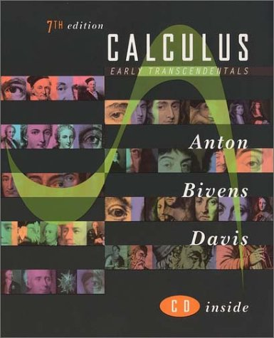 Calculus Early Transcendentals - Combined 7th 2002 9780471381563 Front Cover