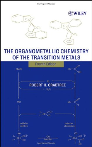 Organometallic Chemistry of the Transition Metals  4th 2005 (Revised) 9780471662563 Front Cover