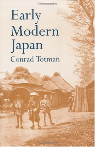 Early Modern Japan  N/A edition cover