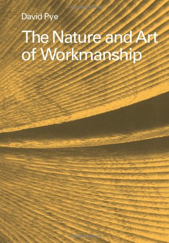 Nature and Art of Workmanship  N/A 9780521293563 Front Cover