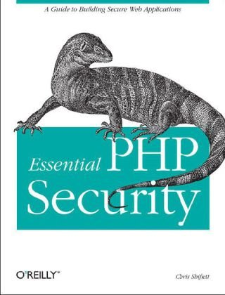 Essential PHP Security   2005 edition cover