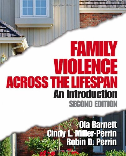 Family Violence Across the Lifespan An Introduction 2nd 2005 (Revised) edition cover