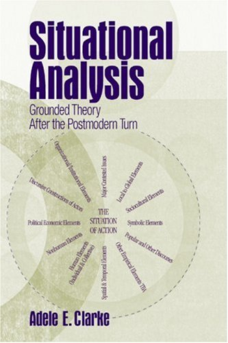 Situational Analysis Grounded Theory after the Postmodern Turn  2005 edition cover