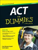 ACT for Dummies�  6th 2015 9781118911563 Front Cover