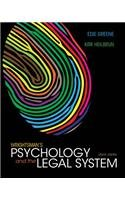 Wrightsman's Psychology and the Legal System  8th 2014 9781133956563 Front Cover