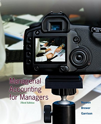 Managerial Accounting for Managers With Connect Access Card:   2015 edition cover
