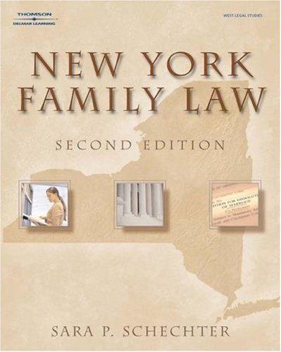 New York Family Law  2nd 2006 (Revised) 9781401879563 Front Cover