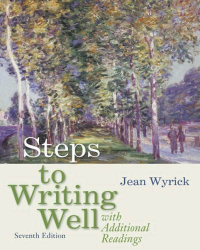 Steps to Writing Well with Additional Readings  7th 2008 (Revised) edition cover
