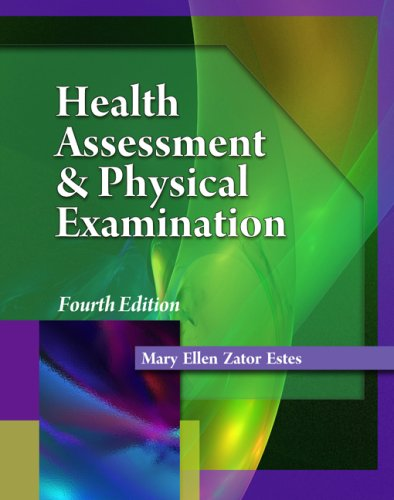 Health Assessment and Physical Examination  4th 2010 edition cover