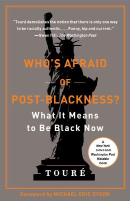 Who's Afraid of Post-Blackness? What It Means to Be Black Now  2011 edition cover