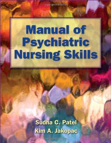 Manual of Psychiatric Nursing Skills   2012 edition cover