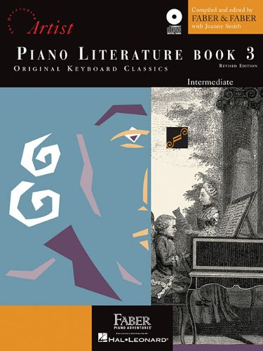 Piano Literature - Book 3 Developing Artist Original Keyboard Classics N/A edition cover