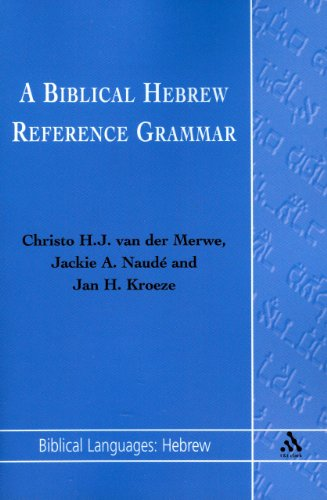 Biblical Hebrew Reference Grammar   1998 edition cover