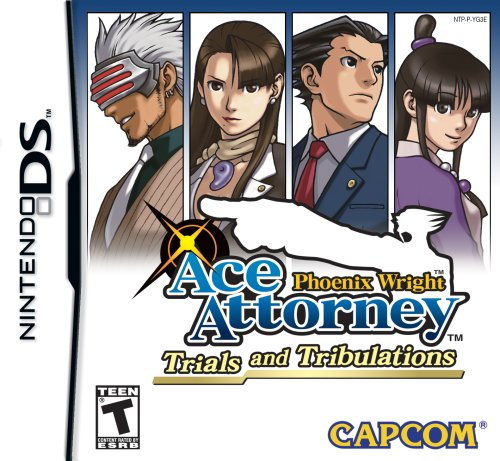 Phoenix Wright Ace Attorney: Trials and Tribulations - Nintendo DS Nintendo DS artwork