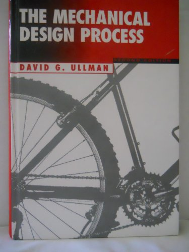 Mechanical Design Process  2nd 1997 edition cover