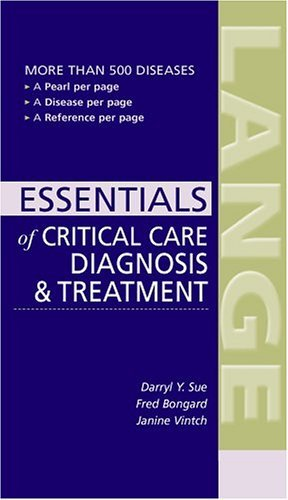 CURRENT Essentials of Critical Care   2005 9780071436564 Front Cover
