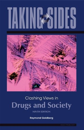 Taking Sides: Clashing Views in Drugs and Society  9th 2010 edition cover