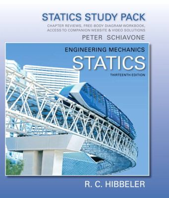 Study Pack for Engineering Mechanics Statics 13th 2013 edition cover