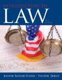 Introduction to Law  5th 2015 edition cover