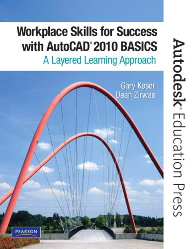 Workplace Skills for Success with AutoCAD 2010 Basics  2010 9780135071564 Front Cover