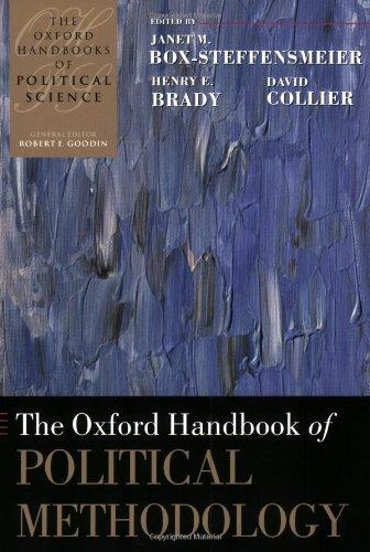 Oxford Handbook of Political Methodology   2010 edition cover