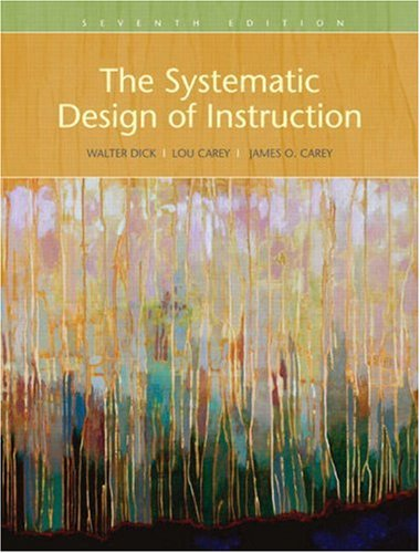 Systematic Design of Instruction  7th 2009 edition cover