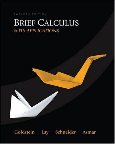 Brief Calculus and Its Applications  12th 2010 edition cover