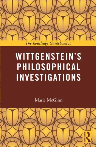 Wittgenstein's Philosophical Investigations  2nd 2013 edition cover
