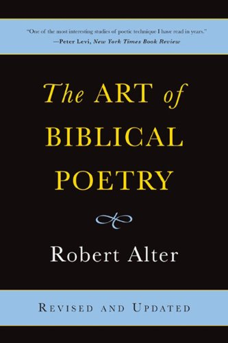 Art of Biblical Poetry  2nd 2011 edition cover