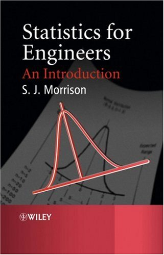 Statistics for Engineers An Introduction  2009 9780470745564 Front Cover