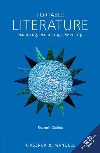 Portable Literature Reading, Reacting, Writing, 2009 MLA Update Edition 7th 2011 edition cover