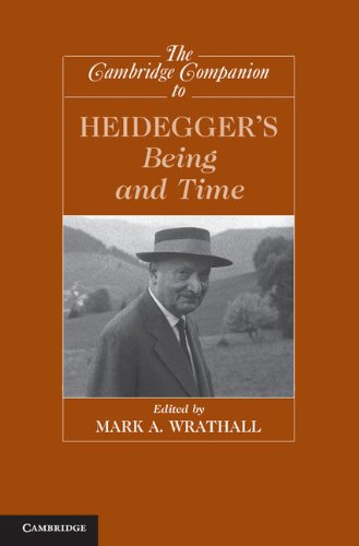 Cambridge Companion to Heidegger's Being and Time   2013 edition cover
