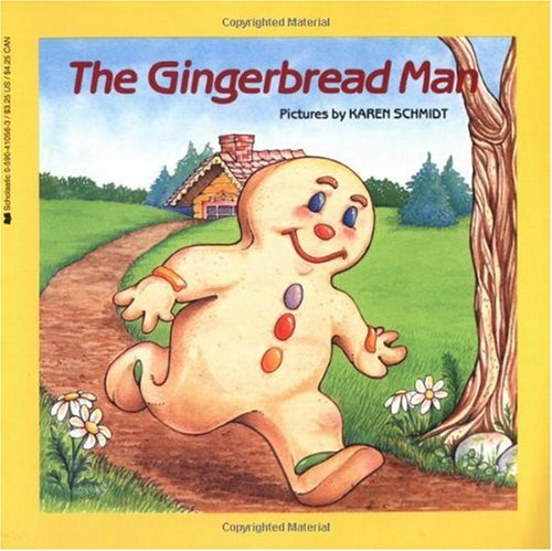 Gingerbread Man   1985 edition cover