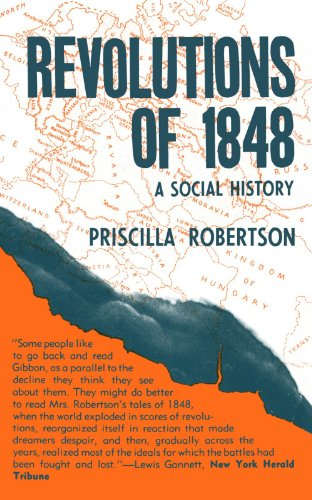 Revolutions of 1848 A Social History  1968 edition cover
