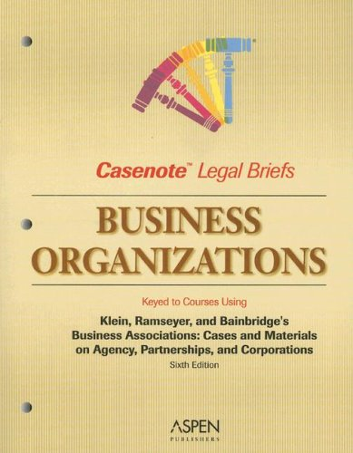 Business Organizations Hamilton and Macey's Cases and Materials on Corporations 6th (Student Manual, Study Guide, etc.) 9780735561564 Front Cover