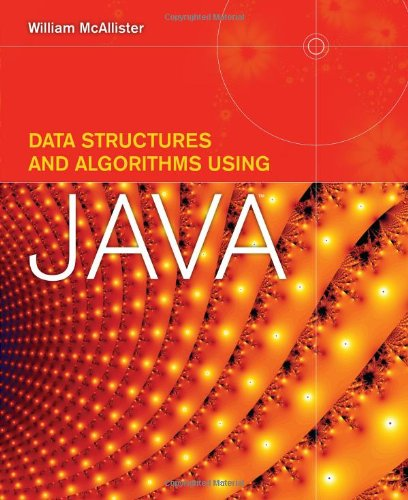 Data Structures and Algorithms Using Java   2009 edition cover