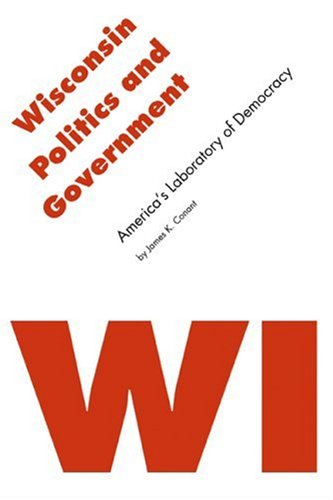 Wisconsin Politics and Government America's Laboratory of Democracy  2006 edition cover