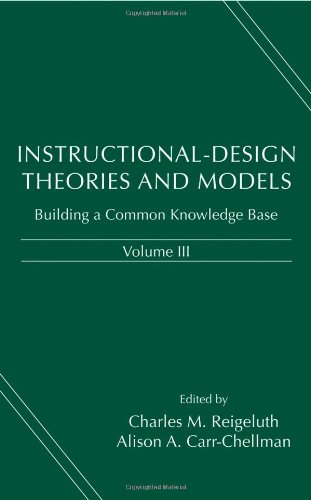 Instructional-Design Theories and Models Building a Common Knowledge Base  2009 edition cover