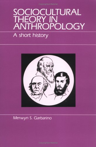Sociocultural Theory in Anthropology  Reprint  edition cover