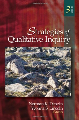 Strategies of Qualitative Inquiry  3rd 2008 9781412957564 Front Cover