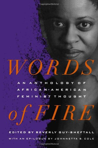 Words of Fire An Anthology of African-American Feminist Thought  1995 edition cover
